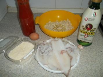 Rezept: GEFùHLTE KALMARE