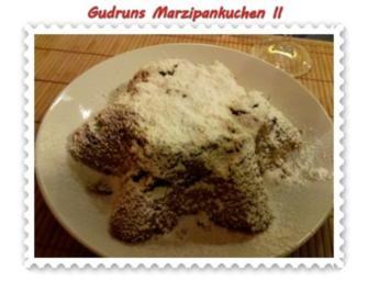 Kuchen: Marzipankuchen II - Rezept