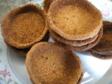 Backen: Mürbteigschälchen für Desserts und kleine Törtchen - Rezept