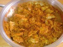 Scharfes Reisfleisch - Rezept