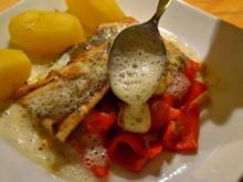Saibling an Kartoffel-Buttermilch-Schaum - Rezept
