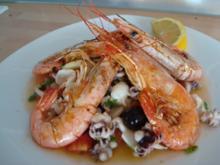 Fischplatte nach Mibi-Style - Rezept
