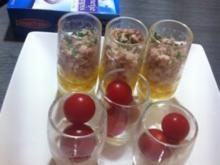 Tomaten-Mozzarella Tapas - Rezept