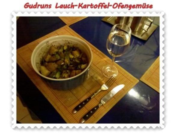 Vegetarisch: Kartoffel-Lauch-Ofengemüse - Rezept - Bild Nr. 7
