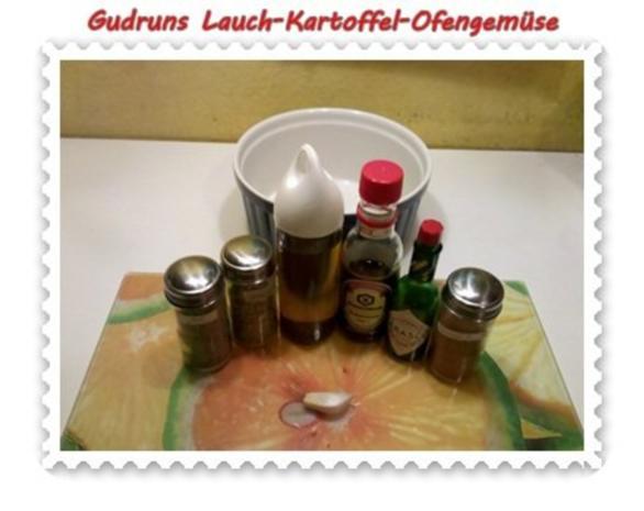Vegetarisch: Kartoffel-Lauch-Ofengemüse - Rezept - Bild Nr. 2