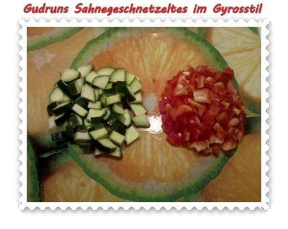 Fleisch: Sahnegeschnetzeltes im Gyrosstil - Rezept - Bild Nr. 7