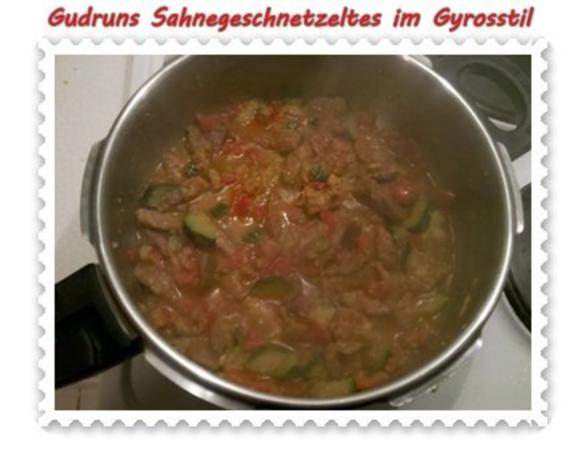 Fleisch: Sahnegeschnetzeltes im Gyrosstil - Rezept - Bild Nr. 10