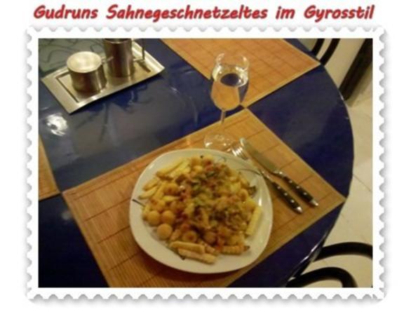 Fleisch: Sahnegeschnetzeltes im Gyrosstil - Rezept - Bild Nr. 16