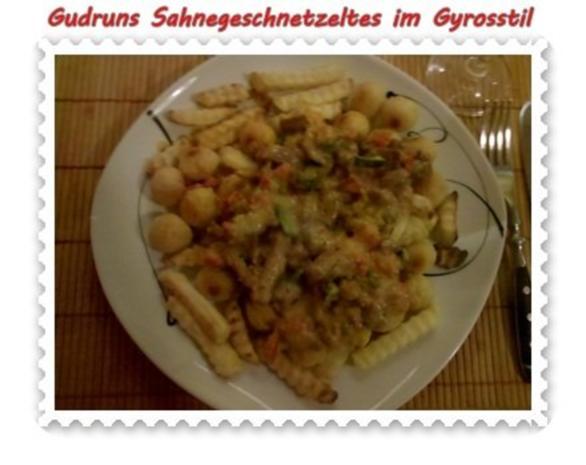 Fleisch: Sahnegeschnetzeltes im Gyrosstil - Rezept - Bild Nr. 17