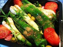 Mediterranes Ofengemüse 2 - Rezept