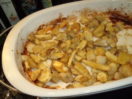 Topinambur und Pastinaken aus dem Ofen - Rezept