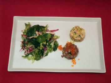 Zweierlei Tartar vom Fisch - Rezept