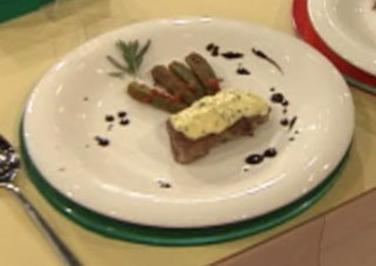 Rücken und Käse von der Ziege mit Okraschotengemüse (Harry Wijnvoord) - Rezept