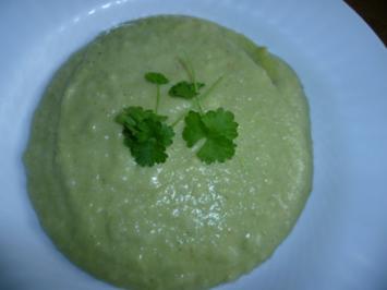 Brokkoli-Mascarpone-Suppe - Rezept