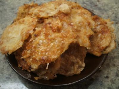 Käse: Parmesan-Chips - Rezept