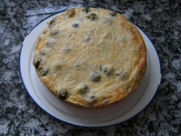 Rosenkohl Kuchen - Rezept