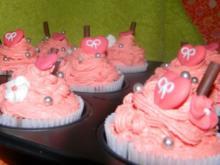 Valentins-Cupcakes - Rezept