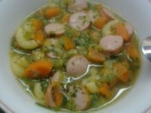 Ruck-Zuck Gemüsesuppe - Rezept