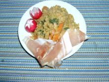 Roter Linsensalat mit Seeluftschinken - Rezept