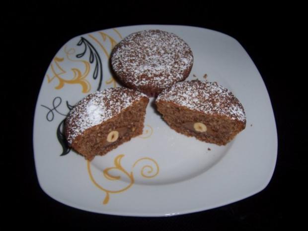 Haselnuss-Toffifee-Muffins - Rezept