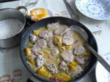 Mediterrane Schweinemedaillons in Orangensoße - Rezept