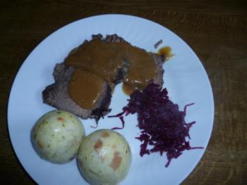 Rindfleisch in Barolo geschmort - Rezept