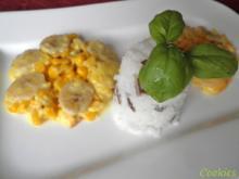 Bananen - Mais - Curry - Blüten - Rezept