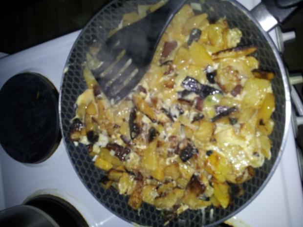 Low Carb Bauernfrühstück - Rezept - Bild Nr. 4