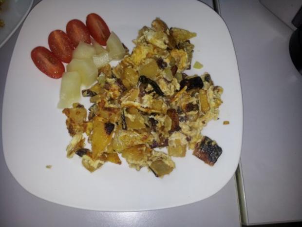 Low Carb Bauernfrühstück - Rezept