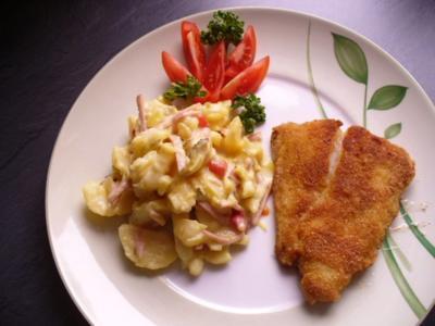 Pangasiusfilet zu Kartoffelsalat - Rezept
