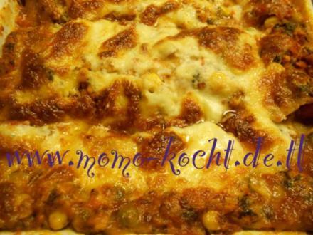 Gemüse Lasagne Vegetarisch - Rezept