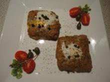 Beef Tatar Toast - Rezept