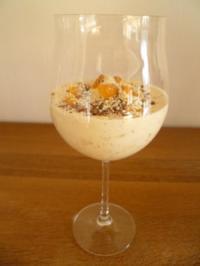 Mandarinen Quark mit Amarettini - Rezept