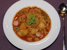Kartoffel-Gulasch - Rezept