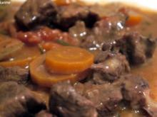 Red Wine Beef Stew - Rezept