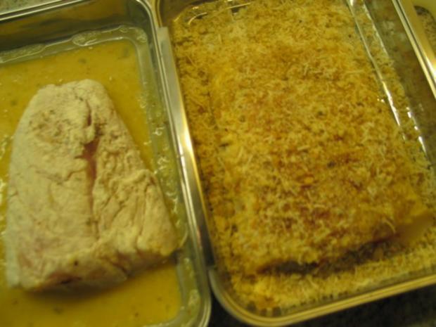 Fisch: Winterkabeljau-Filet in Käse-Knusper-Kruste - Rezept - Bild Nr. 6