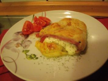 Schinken-Mozzarella Taschen - Rezept