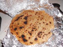 Chapati (indisches Brot / vegan) - Rezept