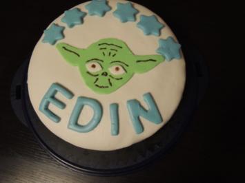 Rezept: Star Wars YODA Torte (Oreo-Schokocreme)