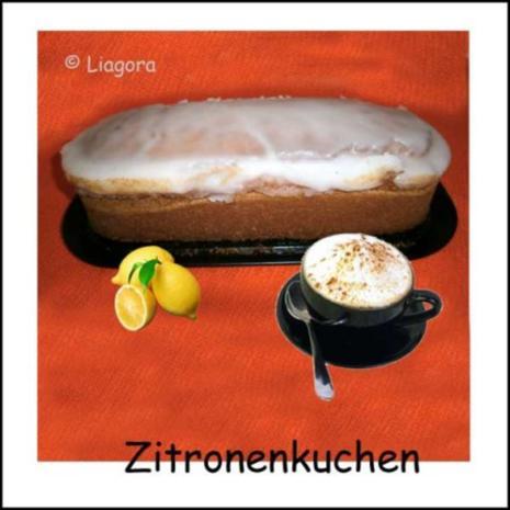 Zitronenkuchen - Rezept