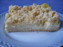 Schmand - Streusel - Kuchen - Rezept
