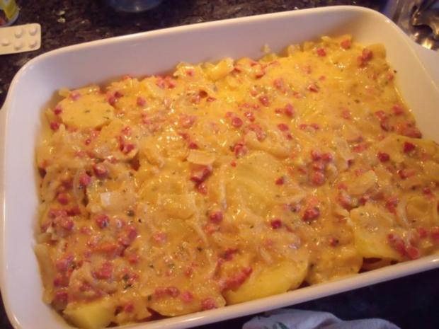 Kartoffel-Frischkäse-Auflauf - Rezept
