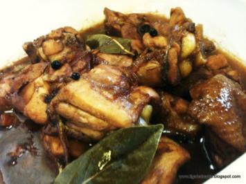 Hunh und schwein Adobo  Philippienen - Rezept