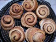 Zimtschnecken aus den Muffinform - Rezept