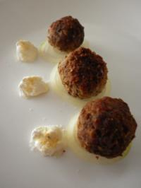 Falafel mit Knoblauchdip - Rezept