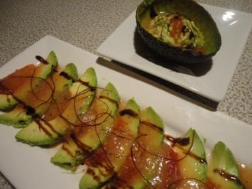 fruchtiger Avocado Teller - Rezept