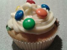 Smartie-Cupcakes - Rezept