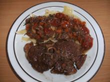 Fleisch: Lamm - Ossobuco mit Cherrytomaten - Rezept