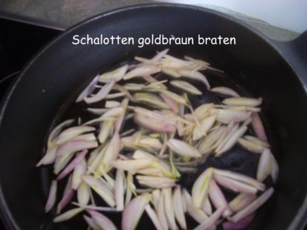 Hähnchenleber auf Feldsalat - Rezept - Bild Nr. 4