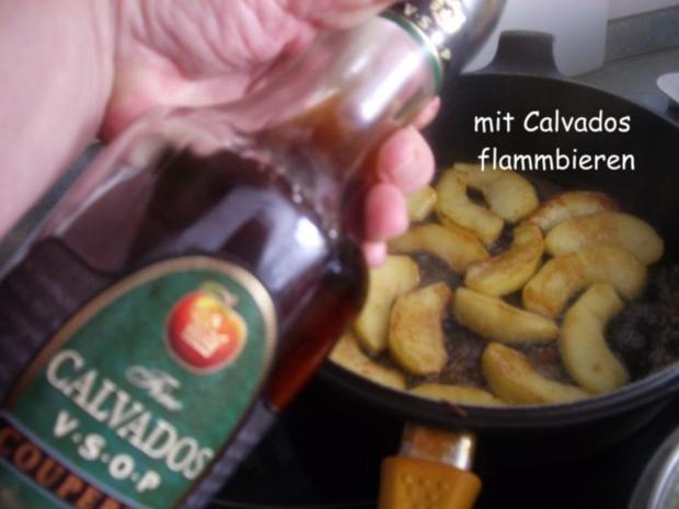 Hähnchenleber auf Feldsalat - Rezept - Bild Nr. 8